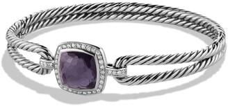 David Yurman Albion Bracelet with Semiprecious Stone and Diamonds