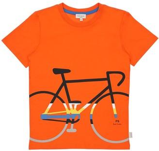 Paul Smith Bike Print Cotton Jersey T-shirt