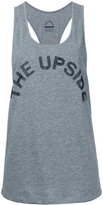 The Upside oversized sports tank top - women - Cotton - XS