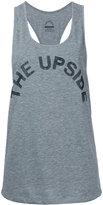 The Upside oversized sports tank top - women - Cotton - XXS