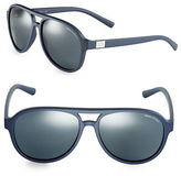 Armani Exchange 58mm Aviator Sunglasses