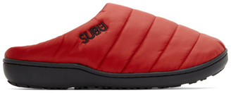 SUBU Red Insulated Loafers