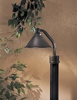 Minka Lavery Minka-Lavery The Great Outdoors GO 8106 1 Light Post Mount Lamp from the Dark Sky Kirkham Collection, Hammered Aspen Bronze