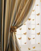 "Home Silks Each 96""L Butterfly Sheer"