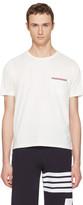 Thom Browne Off-white Pocket T-shirt