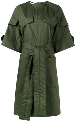 Marni Military Shirt Dress