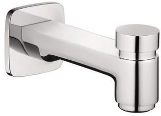 "Hansgrohe America, Inc 71412 Logis 5-7/8"" Diverter Wall Mounted Tub Spout"