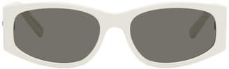 Saint Laurent White SL 329 Sunglasses