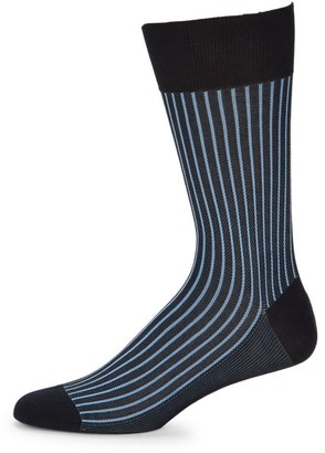 Falke Oxford Stripe Crew Socks