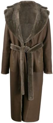 Liska Fur Midi Coat
