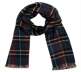 Glitzhome Paging Doctor Stewart Plaid Reversible Scarf