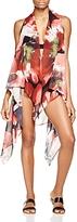 Carmen Marc Valvo Vest Tunic Swim Cover-Up