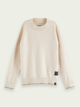 Scotch & Soda High-neck cotton-wool sweater | Boys