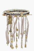 Boohoo Lucy Suedette Star Tassel Bracelet Pack