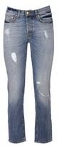 Roy Rogers Roy Roger's Women's Blue Cotton Jeans.