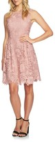CeCe Women's Claiborne Lace A-Line Dress