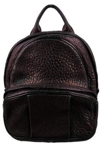 Alexander Wang Pebbled Leather Dumbo Backpack