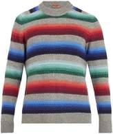 Missoni Striped chevron wool-knit sweater