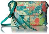 T-Shirt & Jeans Woven Floral Multi Compartment Cross Body