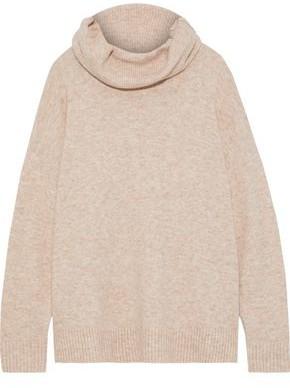 Iris & Ink Gunilla Brushed Knitted Turtleneck Sweater