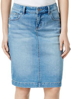 Style And Co. Rip Denim Skirt