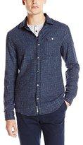 Original Penguin Men's Space Dyed Check Shirt
