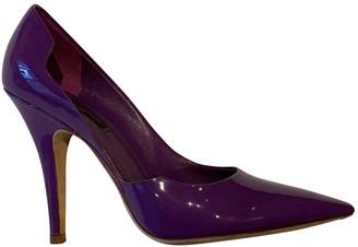 Louis Vuitton Purple Patent leather Heels