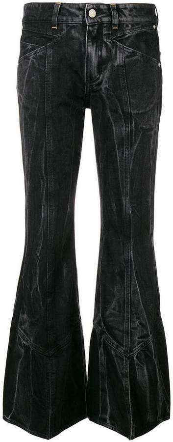 Givenchy flared tie dye jeans