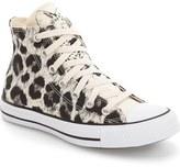 Converse Chuck Taylor ® All Star ® Animal Print High Top Sneaker (Women)