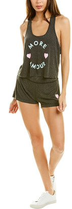 Wildfox Couture Britney More Amour 2Pc Tank & Short Set