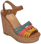 Soda Sunglasses Coral & Turquoise Music Sandal