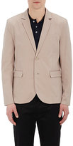 ATM Anthony Thomas Melillo MEN'S TWILL TWO-BUTTON SPORTCOAT-BEIGE, NUDE SIZE 44