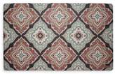 Laura Ashley Allie 32-Inch x 20-Inch Memory Foam Kitchen Mat in Rust