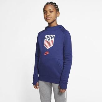 Nike Big Kids' Fleece Pullover Soccer Hoodie U.S