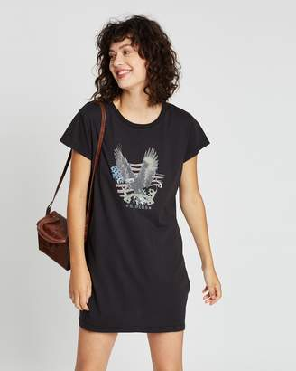 All About Eve Take Flight Tee Dress