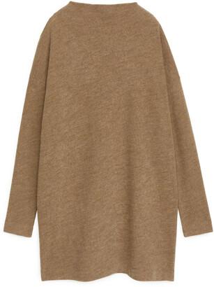 Arket Merino Cotton Jersey Dress