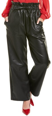Gracia Ankle-Length Paperbag Pant