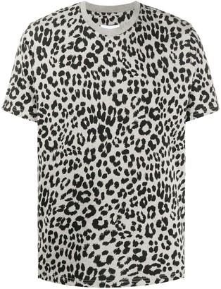 Kenzo leopard-print cotton T-shirt