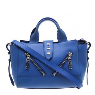 Kenzo Kalifornia Blue Leather Handbags