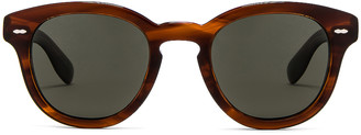 Oliver Peoples Cary Grant Sunglasses in Grant Tortoise | FWRD
