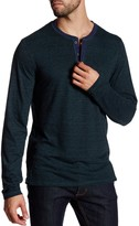 Public Opinion Long Sleeve Henley