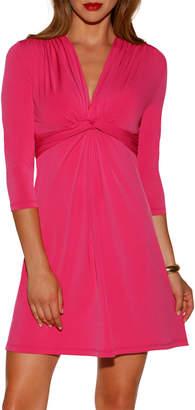 BOSTON PROPER Boston Proper 3/4-Sleeve Dress