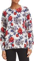 Equipment Melanie Floral Cashmere Sweater