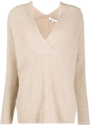 Vince V-neck knitted jumper