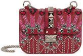 Valentino Garavani Valentino Loveblade Rockstud chain crossbody bag - women - Leather/metal/glass - One Size