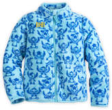 Disney Stitch Fleece Jacket for Girls - Personalizable
