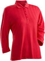 Asstd National Brand Grace 3/4 Sleeve Polo Plus