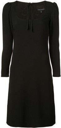 Cynthia Rowley Waverly tie neck dress