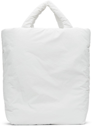 Kassl Editions White XL Pop Oil Tote