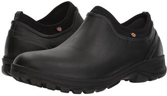 Bogs Sauvie Slip-On (Black) Men's Rain Boots